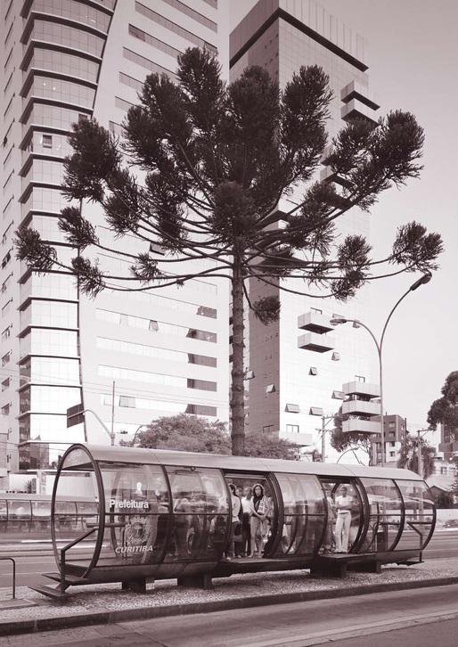 Bus Rapid Transit station, Curitiba, Brazil, April 26, 2011. Simon Norfolk/ INSTITUTE