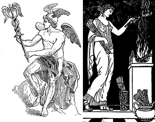 Figure 1 - Hermes and Hestia
