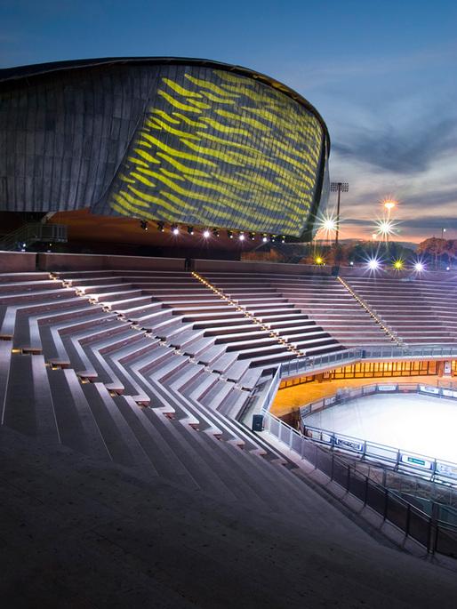 Parco della Musica Auditorium, Rome. Renzo Piano Building Workshop © Agnese Sanvito