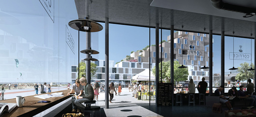 Winning FAR ROC Phase 2 design by White Arkitekter, Stockholm, Sweden: Coffice