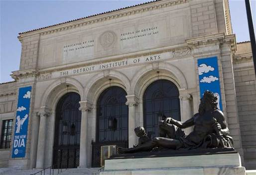 "The Michigan State Legislature agreed to contribute $350m to the ""Grand Bargain"" plan to secure the DIA's collection. Image via theartnewspaper.com"