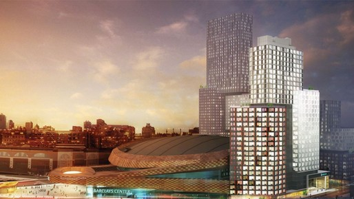 Atlantic Yards in 20 years. Image via forbes.com
