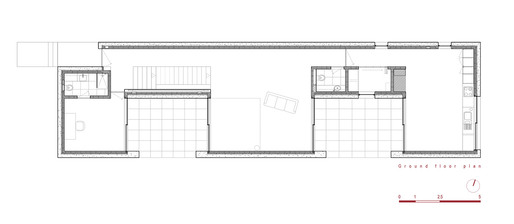 Ground floor plan (Image: Phyd Arquitecture)