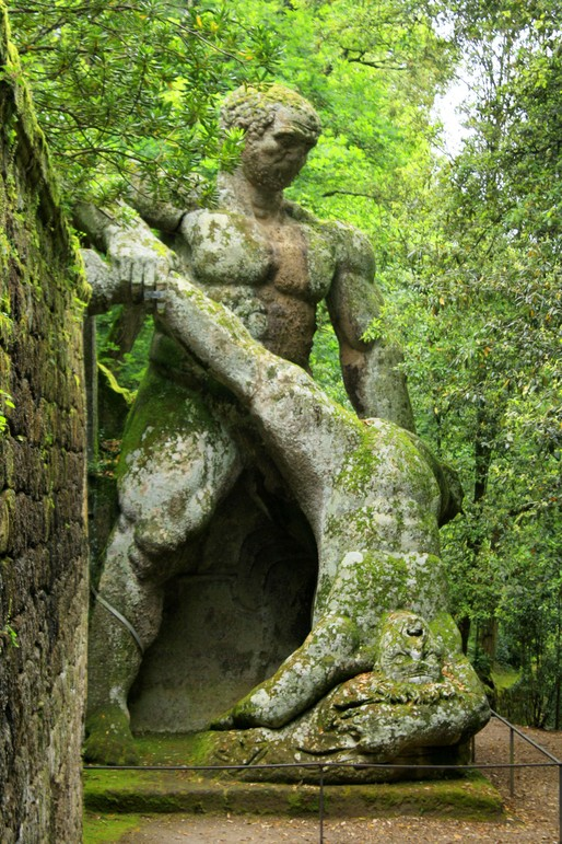 Monster Park Bomarzo Italy Blogs Archinect