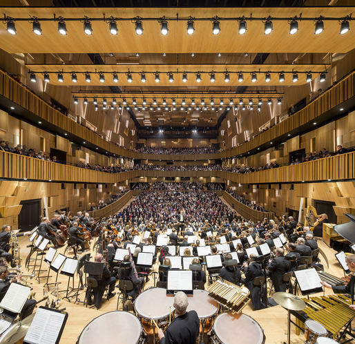 The Concert Hall in Malmö Live by schmidt hammer lassen architects