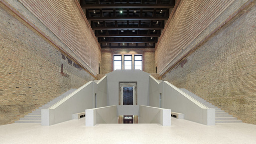 The David Chipperfield-led and widely celebrated renovation of the Neues Museum in Berlin, Germany (Photo: Jörg von Bruchhausen)