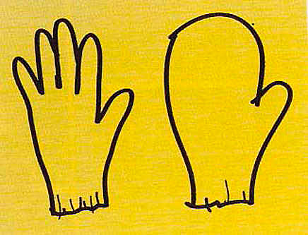 Figure 12 - Venturi and Scott Brown, the glove and the mitten