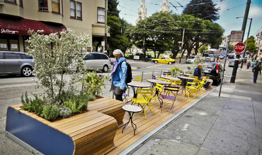 &quot;Parking Day&quot; in San Francisco (Photo courtesy Rebar)