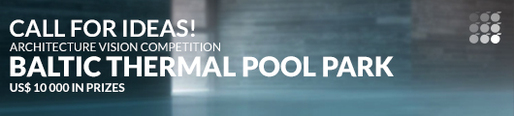 """Baltic Thermal Pool Park"" architecture vision competition"