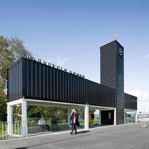 Barneveld Noord Station by NL Architects. Photo: Marcel van der Burg