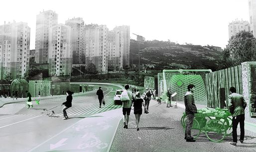 "KITO Perspective's ""Istanbul: Tactics for Resilient Post-Urban Development"" 2014, part of MoMA's ""Uneven Growth: Tactical Urbanisms for Expanding Megacities"" exhibit. (via blouinartinfo.com; Image: Superpool)"