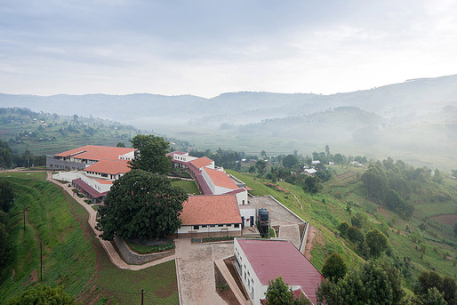 2011 Design Milestone: Butaro Hospital in the Burera District of Rwanda by MASS Design Group. (Photograph by Iwan Baan)