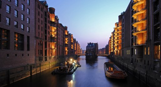 The UNESCO World Heritage Committee has designated two districts of Hamburg as World Heritage Sites. Credit: HHLA