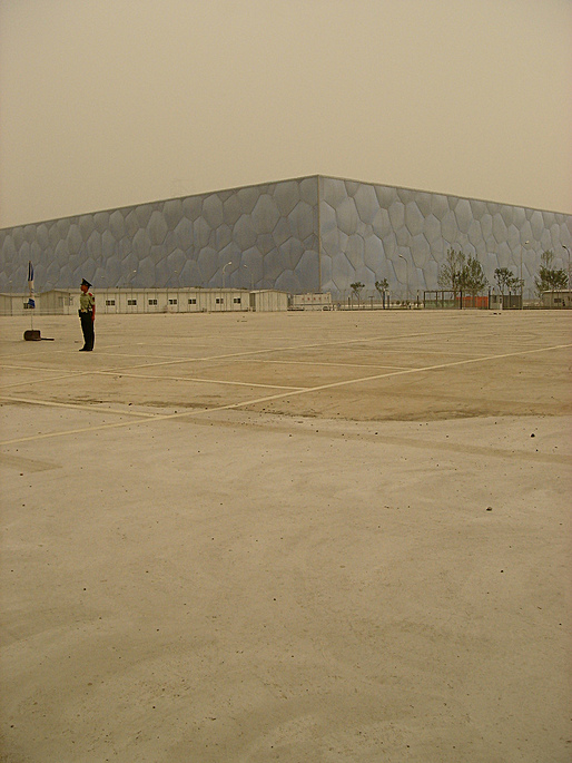 Beijing National Aquatics Center (Beijing Water Cube). Photo:  Fred Scharmen
