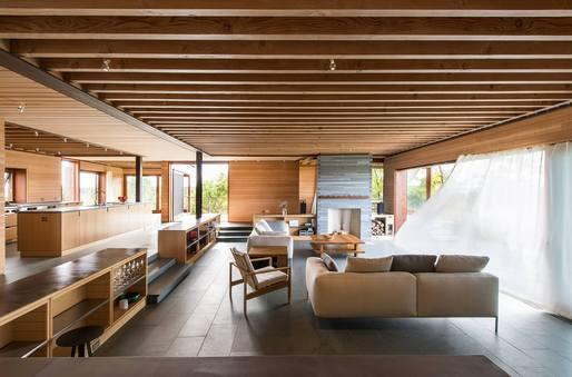 Island Residence by Peter Rose Partners. Photo by Peter Vanderwarker