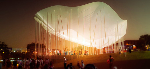 Winning team: Michael Van Valkenburgh Associates and Thomas Phifer & Associates
