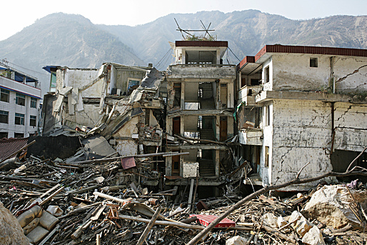 Sichuan Province after 2008 earthquake. China. Photo:  Wu Zhiyi / World Bank