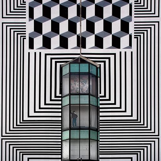 Serge Najjar: Diving into Escher. (Photo © Serge Najjar; Image via hyperallergic.com)