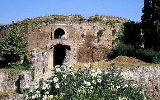 The government in Riyadh have shown a particular interest in in the Emperor Augustus's mausoleum, a giant, circular structure located near the Tiber River (The Telegraph; Photo: Alamy)