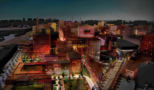 MVRDV-led consortium to refurbish historic Serp & Molot factory site in Moscow. Image courtesy of MVRDV.