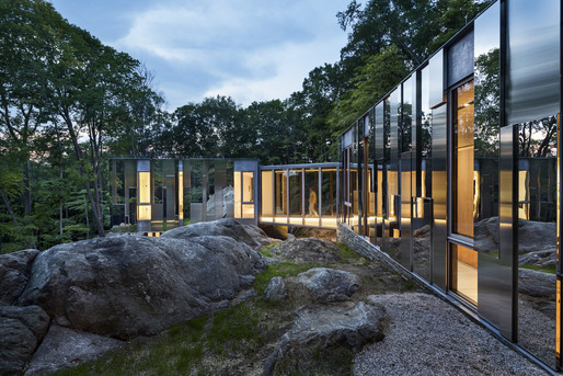 Pound Ridge House by KieranTimberlake. Photo © Peter Aaron/Esto