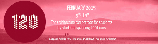 120 HOURS - The architecture competition for students by students spanning 120 hours