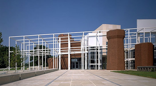 Wexner Center, view looking towards campus