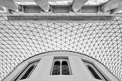 The Great Court, British Museum, London. Architect: Foster and Partners. © Edward Neumann / EMCN