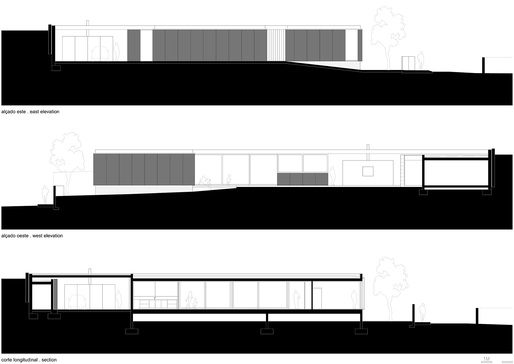 Section elevation. Image: Arquitectos Matos