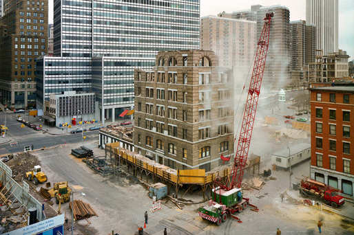 What's New York's right balance between preserving and replacing? (Photo: Andrew Moore; Image via nymag.com)