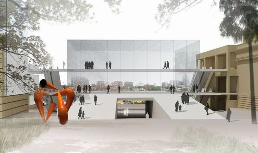 Artist's impression of proposed Gallery expansion. Image courtesy of the Gallery, via visual.artshub.com.au