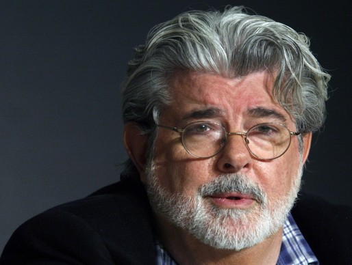 Producer George Lucas at the 2008 Cannes Film Festival. (Jean-Paul Pelissier/Reuters, image via washingtonpost.com)