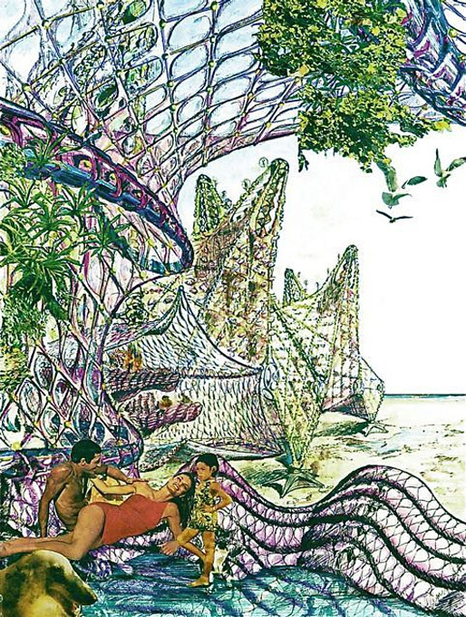 Biomorphic Biosphere, Glen Small. Image courtesy of Orhan Ayyüce.