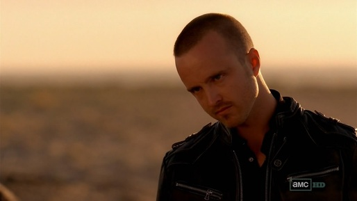 Jesse Pinkman considers his options.