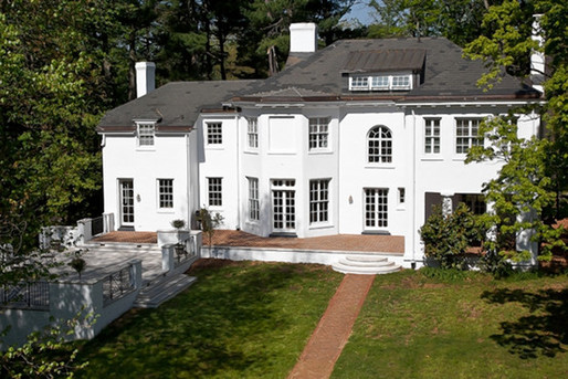 Virginia: This Bradbury-designed house sold for $4 million in 2010, making it one of the most expensive houses sold in the city that year.