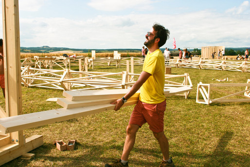 """Hello Wood's """"Project Village"""" shifts architectural focus from urban to rural"""