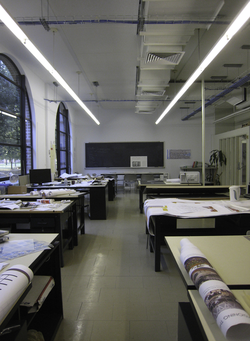 An RSA studio in between classes, Spring 2012.