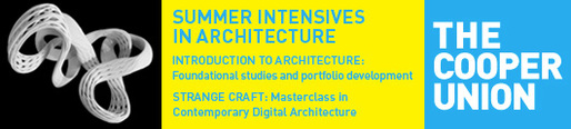 2013 Cooper Union Summer Architecture Intensives