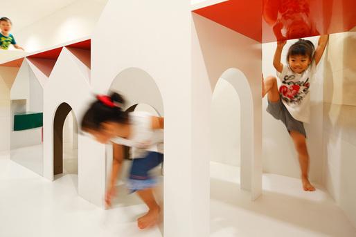 PIXY HALL in Kanagawa, Japan by MORIYUKI OCHIAI ARCHITECTS; Photo: Atsushi Ishida