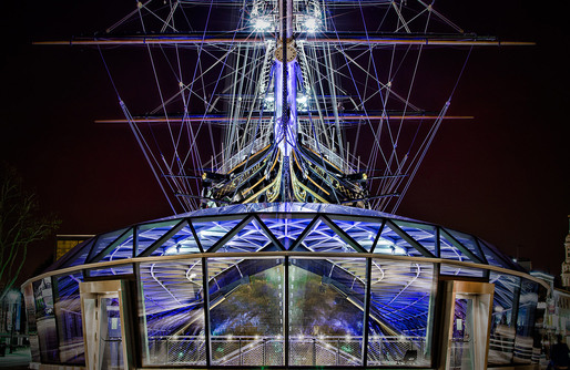 Cutty Sark, London. Architect: Grimshaw Architects. © Edward Neumann / EMCN
