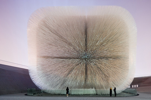 Heatherwick Studio - UK Pavilion, Shanghai World Expo, 2007–10. Photo: Iwan Baan.