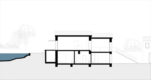 Section, courtesy of ZEST Architecture.