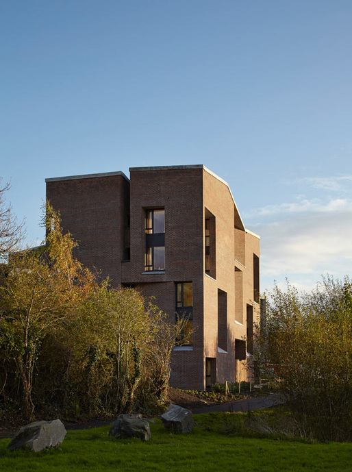 'It has given us a whole new identity' ... student housing at Limerick medical school. Photographs: Dennis Gilbert/View