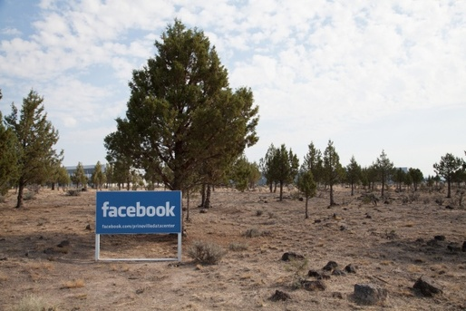 Facebook data center, Prineville, Oregon. Courtesy of CLUI.