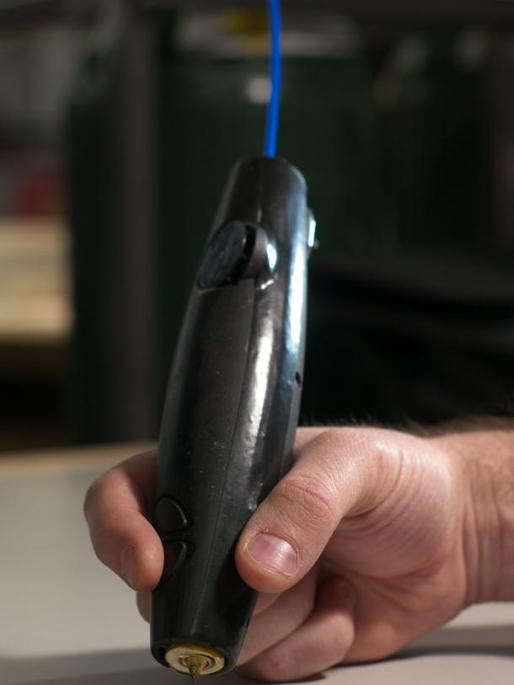 WobbleWorks' 3Doodler 3D printing pen (Credit: WobbleWorks)