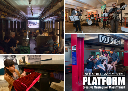 The New York Transit Museum is accepting creative proposals for PLATFORM 2015! Image courtesy of the New York Transit Museum.