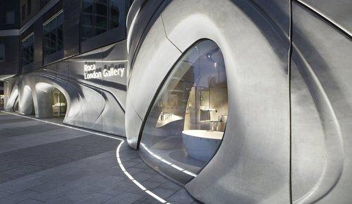 Roca Gallery London - by Zaha Hadid