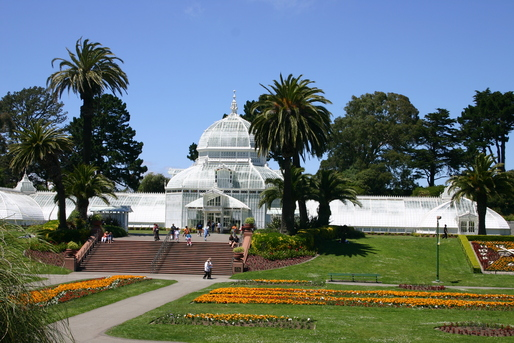 Reclaimed water is an important tactic in sustainable landscape design. The first usage in California was Golden State Park in San Francisco in 1932. Credit: Wikipedia