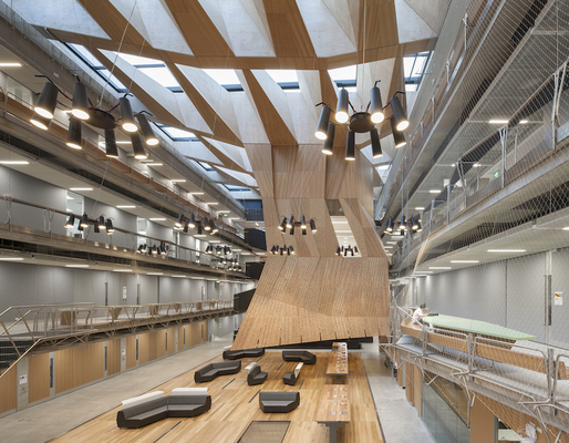 Melbourne School Of Design Photograph By John Horner Courtesy NADAAA