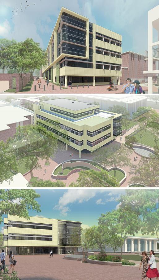 University of South Carolina New Student Health Center Renderings